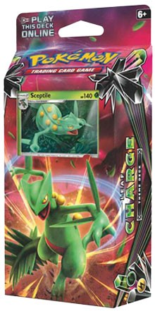 Leaf Charge Theme Deck - Pokemon TCG Code