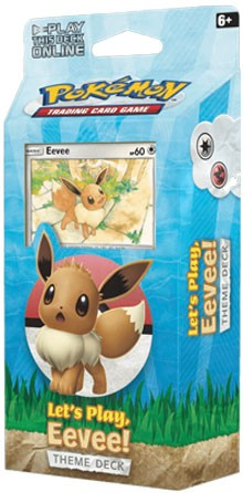 Let's Play Eevee Theme Deck - Pokemon TCG Code