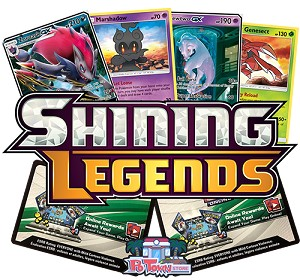 Pokemon TCG Online Codes For Sun And Moon Shining Legends Booster Pack - Automatic E-mail Delivery