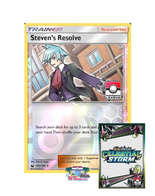 Celestial Storm Season 3 Rewards - PTCGO League Code