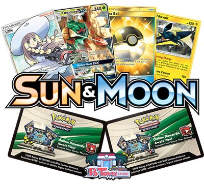 Pokemon TCG Online Codes For Sun And Moon Booster Pack