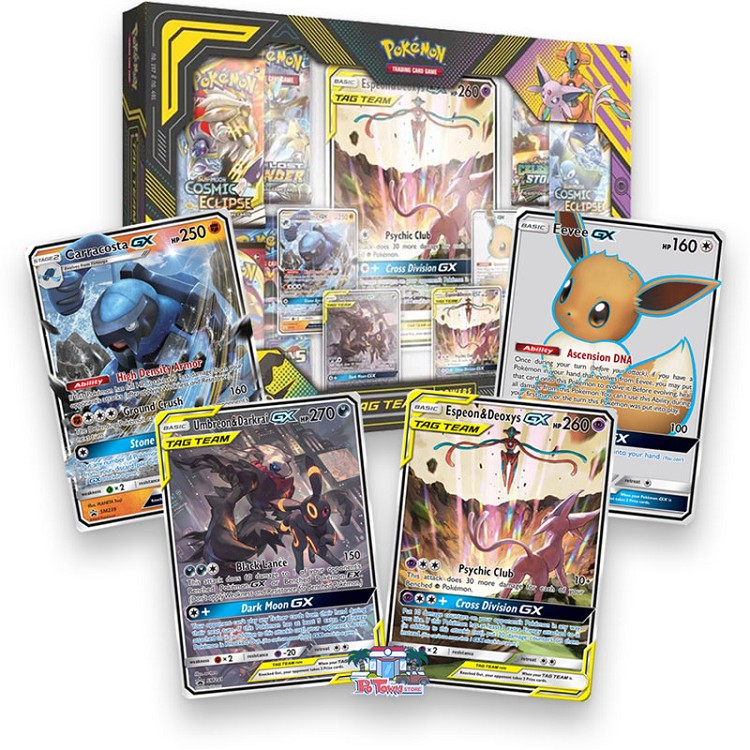 Tag Team Powers Collection Box - Pokemon TCG Online Codes