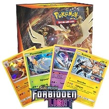 Forbidden Light Pre Release Promo Box - PTCGO Code