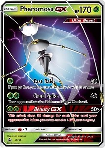 Ultra Beasts-GX Premium Collection - Pheromosa and Celesteela - Pokemon TCG Codes