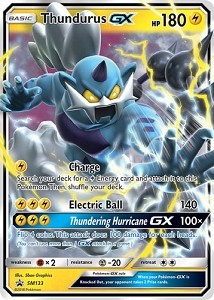 Thundurus-GX - Pokemon TCG Codes