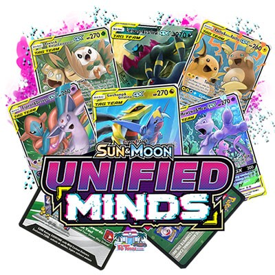 Pokemon TCG Online Codes For Sun And Moon Unified Minds Booster Pack