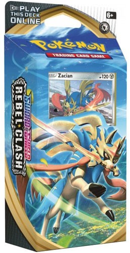 Zacian Theme Deck - Rebel Clash - Pokemon TCG Online Codes