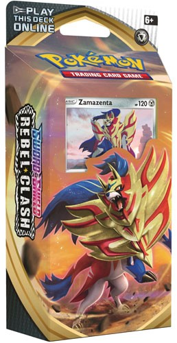 Zamazenta Theme Deck - Rebel Clash - Pokemon TCG Online Codes